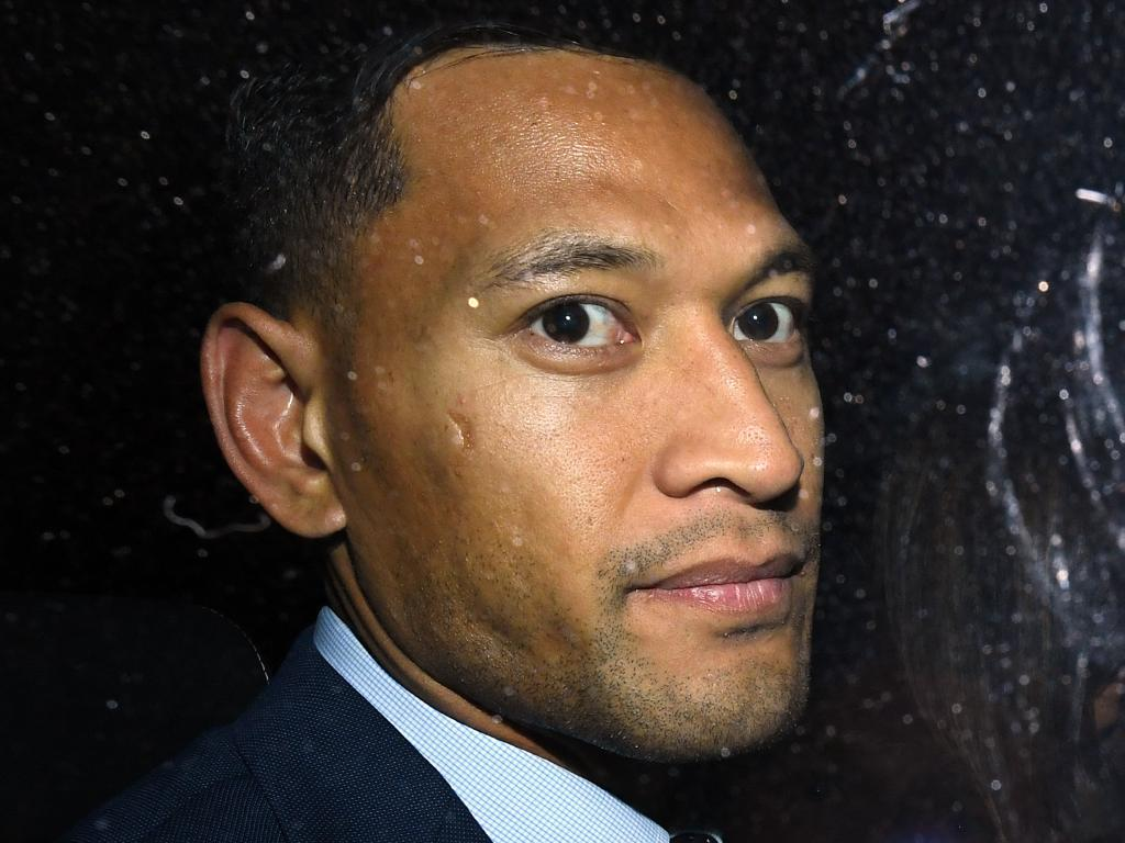 Folau has officially been chopped from the Wallabies.