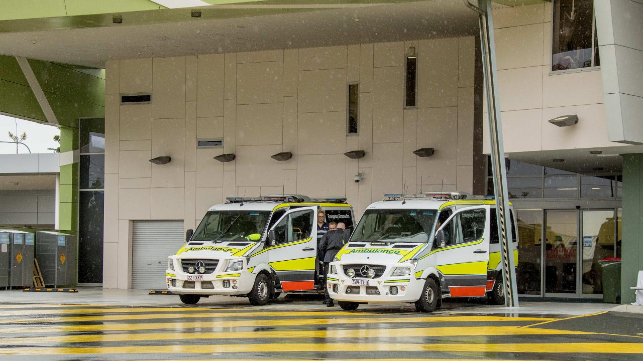 The incident happened at Robina Hospital last week. Picture: Jerad Williams