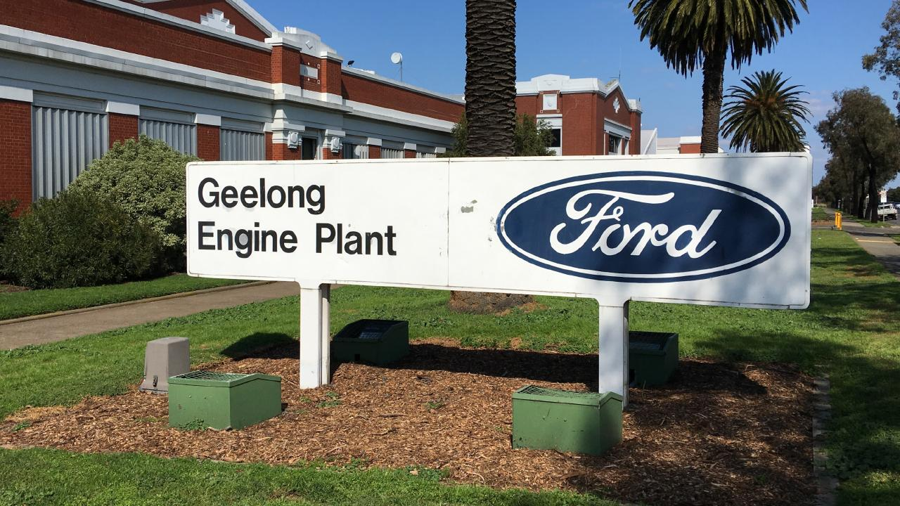 Ford engine factory in Geelong will be turned into manufacturing facilities for tech companies. Picture: Joshua Dowling.