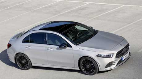 Mercedes-Benz is launching the first variant in the new A-Class sedan range.