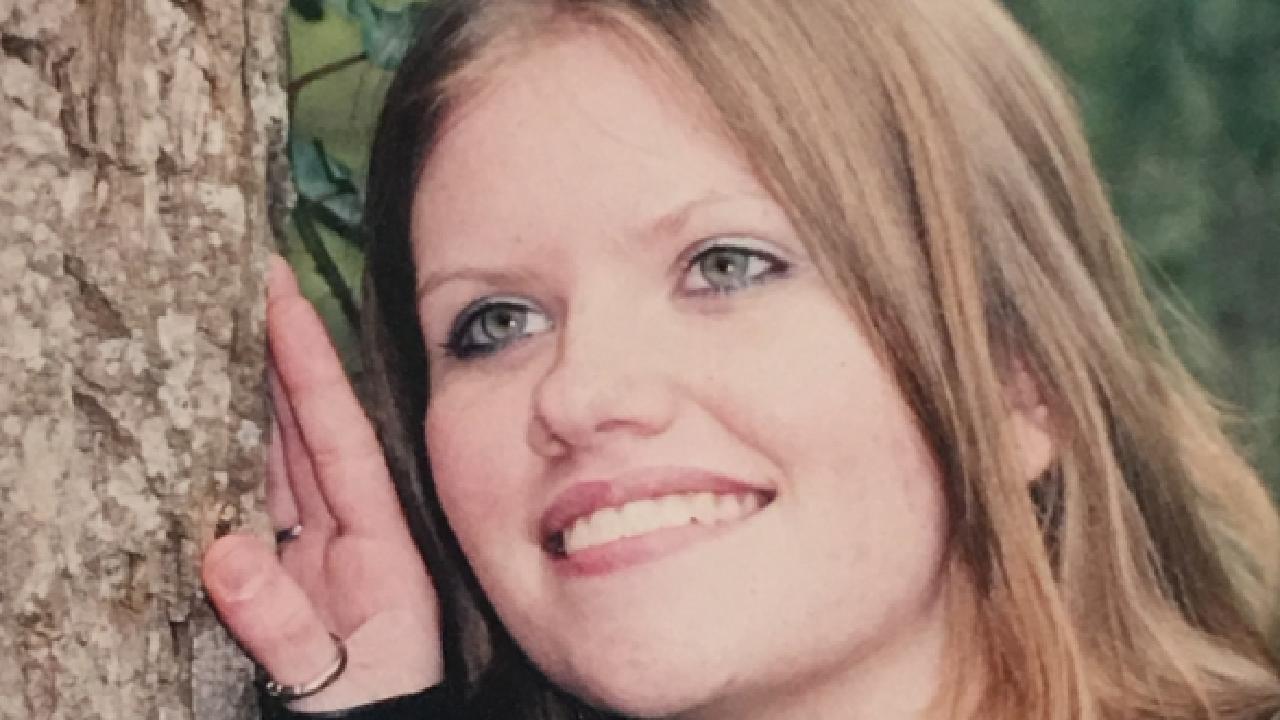 Donna Pollard, 16, on her wedding day.