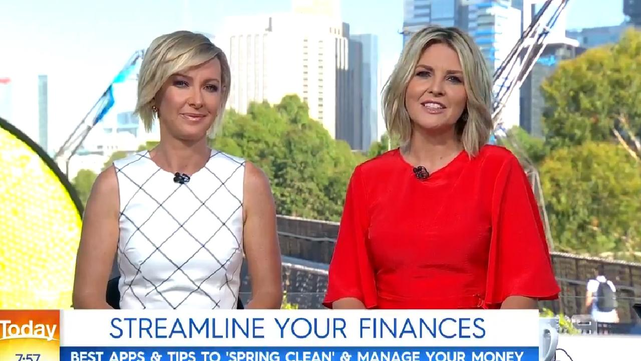Deborah Knight and Georgie Gardner on Today.