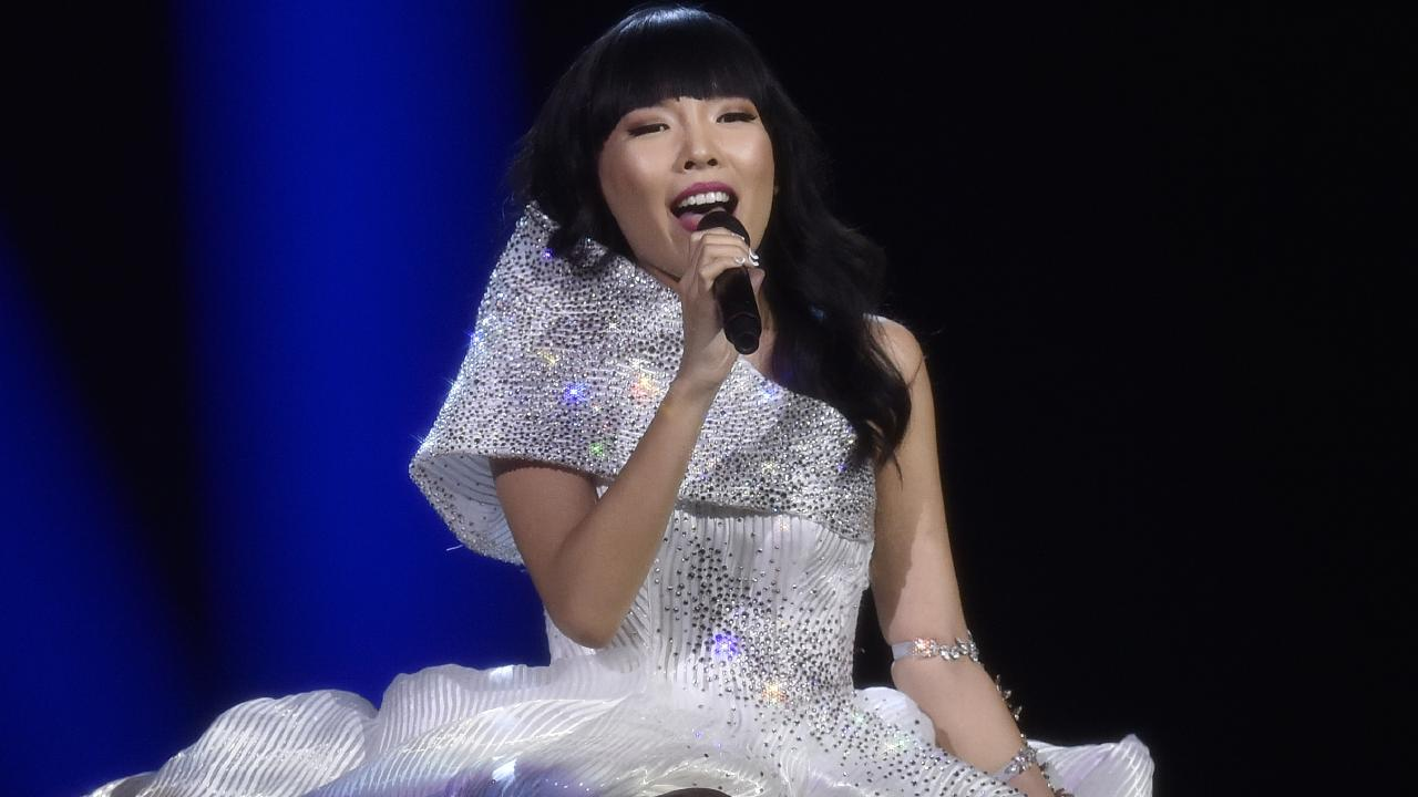 Australia's Dami Im came second in the 2016 Eurovision Song Contest. Picture: AP /Martin Meissner