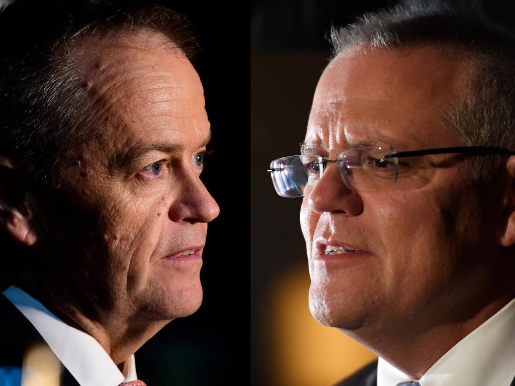 A handful of marginal seats in each state are set to decide whether Bill Shorten or Scott Morrison becomes Prime Minister. Picture: AAP