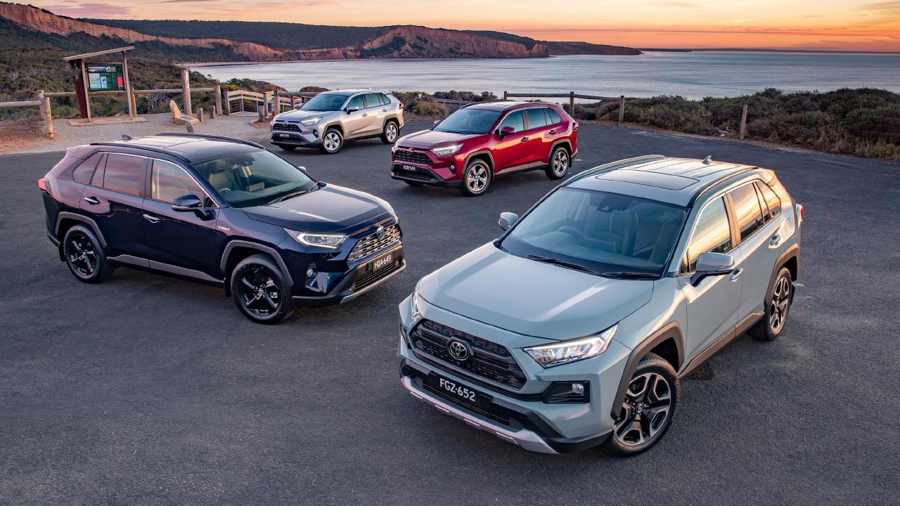 The RAV4 range starts at about $30,000.