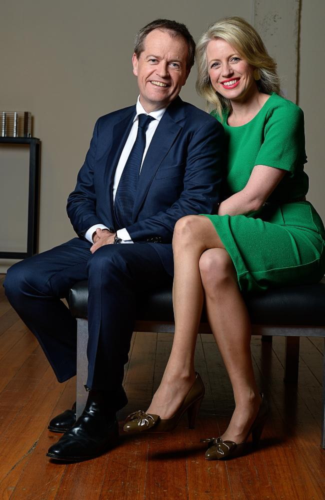 Bill and Chloe Shorten have opened up about their unique political partnership.
