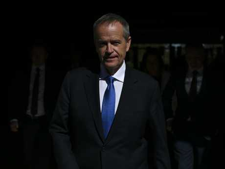 Bill Shorten has unveiled often a suite of policies from opposition. Picture: AAP Image/Lukas Coch