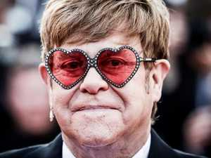 Elton bursts into tears at movie premiere