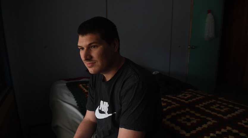 Justin Duncan's plan expired on March 23, leaving the 25-year-old with no NDIS funding, and forcing a growing list of expenses onto his father.