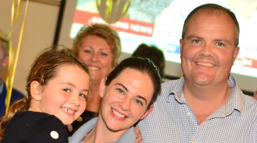 WINNER: Fairfax MP Ted O'Brien has comfortably claimed Fairfax for a second term.