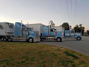 See the chrome at the Brisbane Truck Show