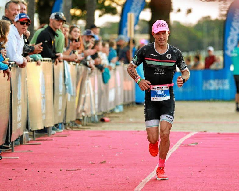 Leighton Rogan has qualified to represent Australia at the Hawaiian Ironman for the first time in the 45-49 age group.