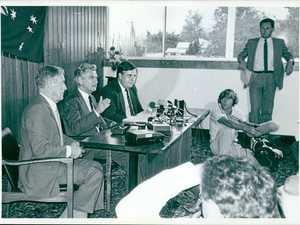 Bob Hawke's Warwick visit 1985