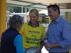 Conaghan isn't proud of The Nationals attacks on Oakeshott