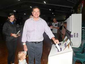 WIDE BAY DECIDES: O'Brien 'quietly confident' of re-election