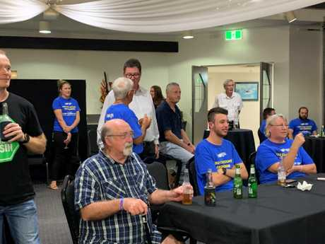 George Christensen's election party.