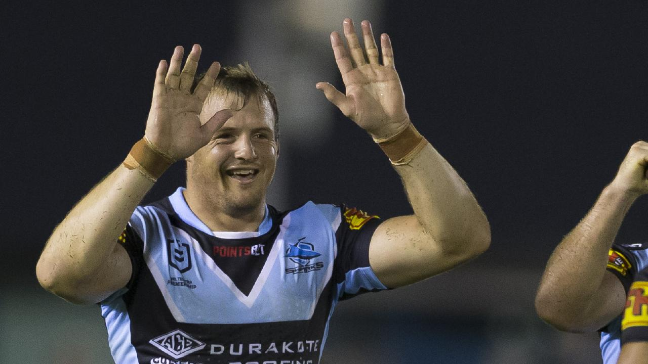 Josh Morris has been in stunning form at Cronulla. Picture: Craig Golding/AAP