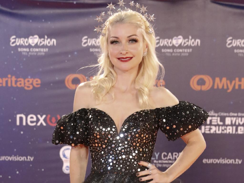 "Kate Miller-Heidke: ""I have a very fragile ego."" Picture: AP/Ariel Schalit"