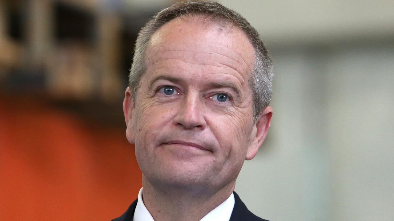 Opposition Leader Bill Shorten.  Picture:  Kym Smith