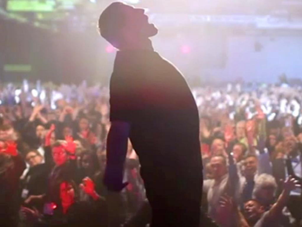 Tony Robbins has made a lot of money as a motivational speaker. Picture: Netflix