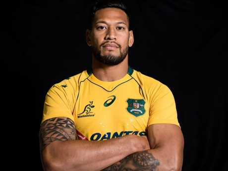 Israel Folau's four-year $4 million contract was torn up.
