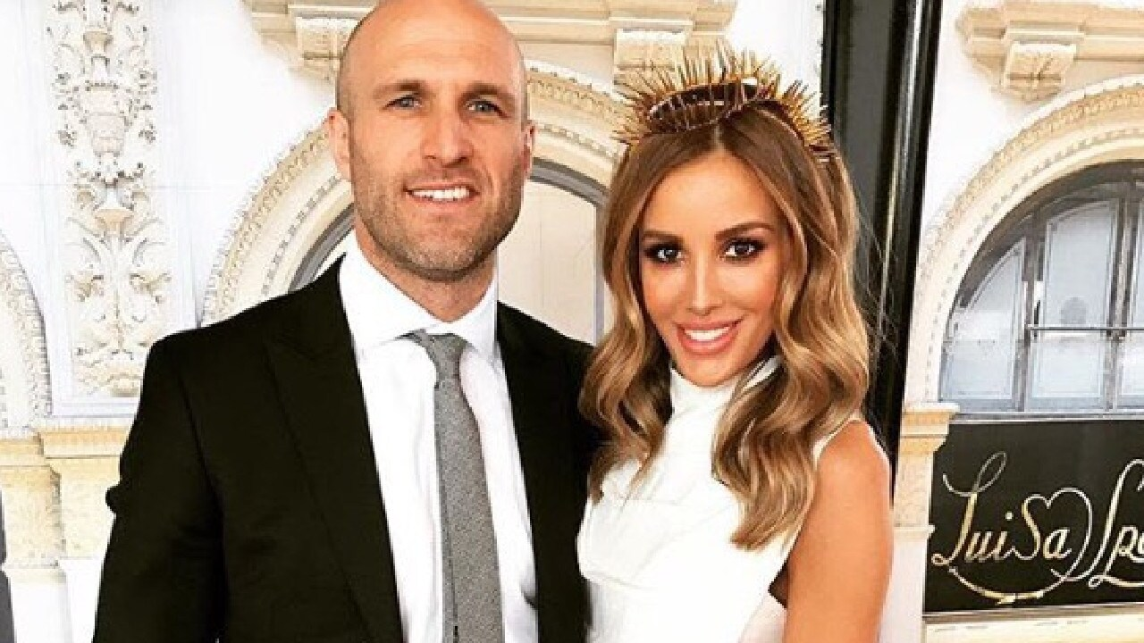 Chris and Bec Judd leave little to the imagination.