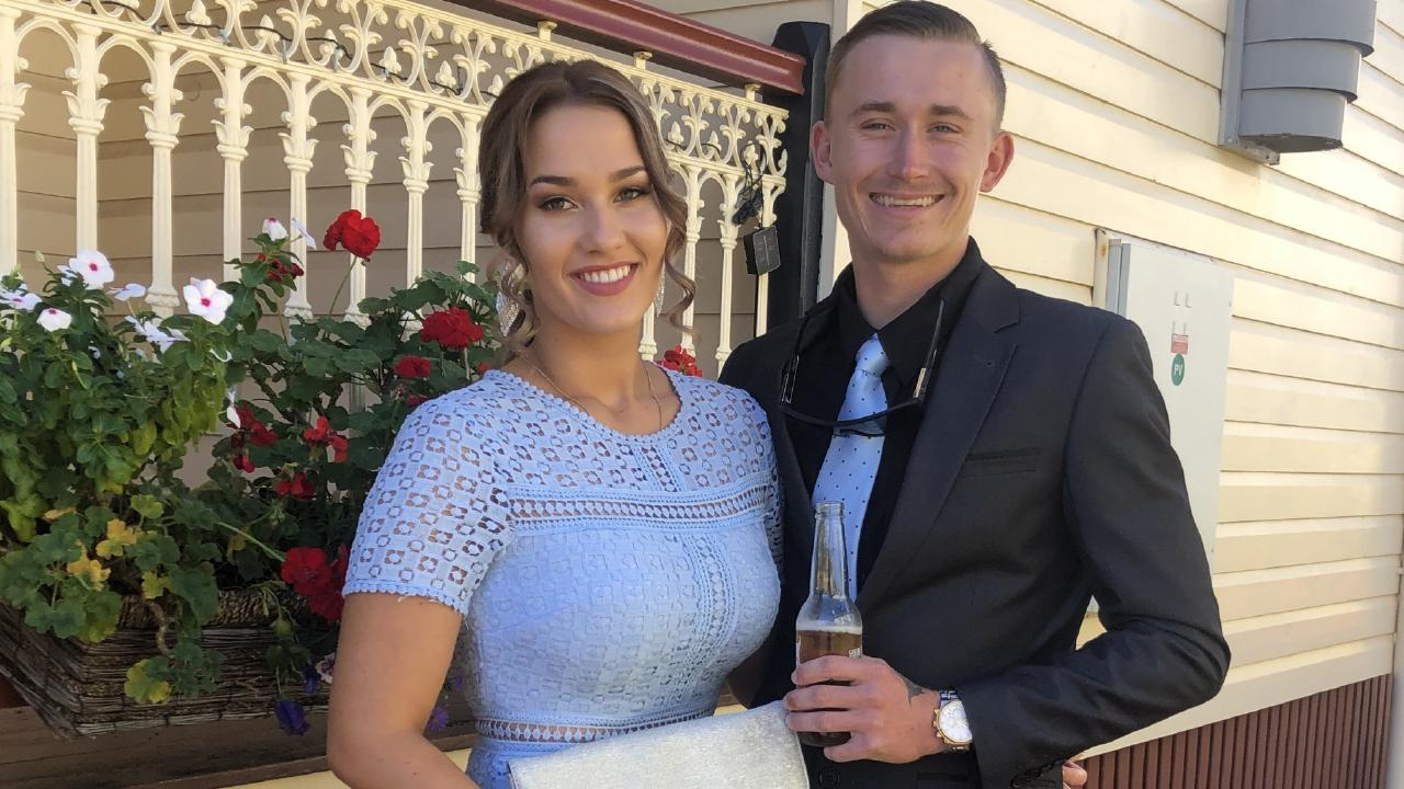 Gordonvale couple Krystal Hadley and Aaron Patteson.