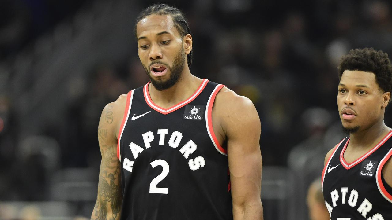 The crowd didn't miss Toronto's Kawhi Leonard.