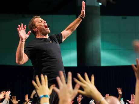 Tony Robbins draws big crowds. Picture: Supplied