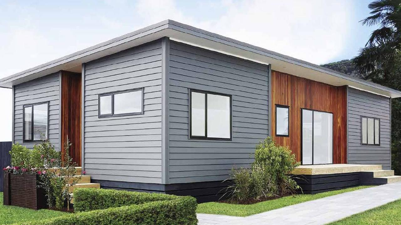 Plans for another Clever Living Co. flat pack home are in the works. Picture: Bunnings. Source: NZ Herald
