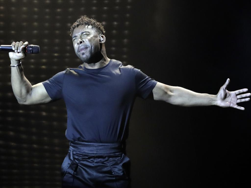 John Lundvik of Sweden is another finalist. Picture: AP/Sebastian Scheiner