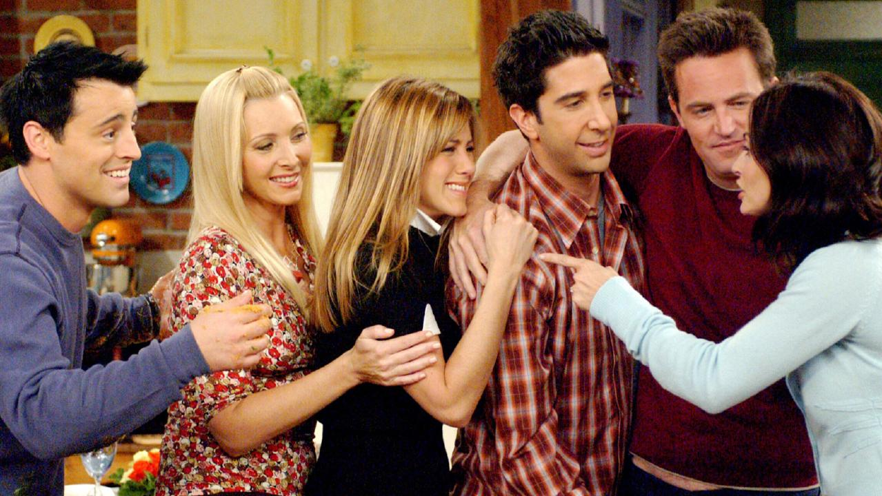 Matt LeBlanc, Lisa Kudrow, Jennifer Aniston, David Schwimmer, Matthew Perry and Courteney Cox. Picture: Supplied
