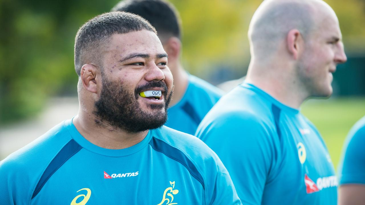His chances of playing for the Wallabies squad is now in serious doubt following the incident. Picture: Stuart Walmsley