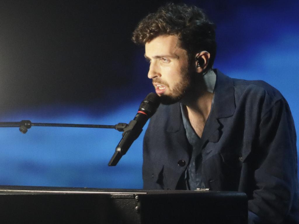 Duncan Laurence of the Netherlands is the overwhelming favourite to win Eurovision. Picture: AP