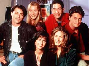 Pic shows cast together before Friends