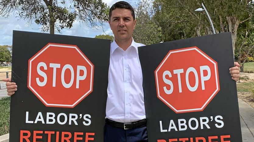 Matthew Fraser has continued his campaign against Labor's proposed retiree tax.