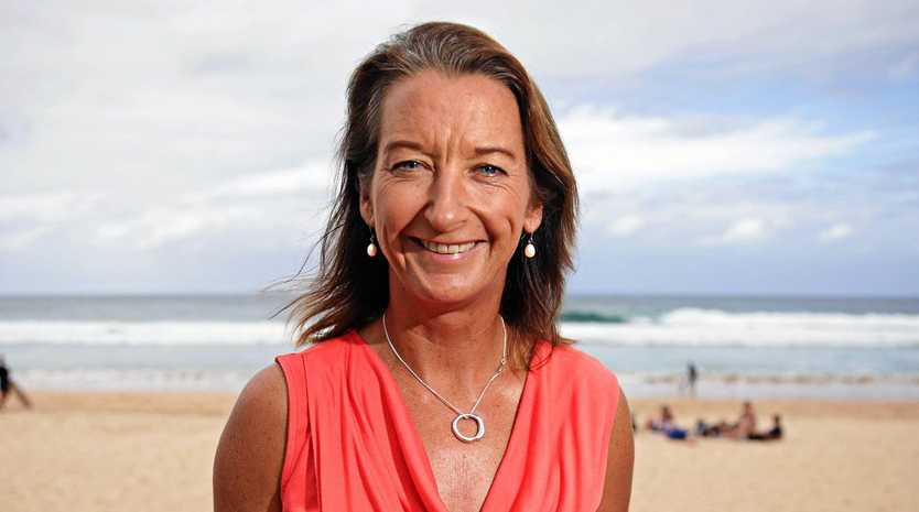 RIDING IN: Layne Beachley is on her way to the region for the 1770 Festival.