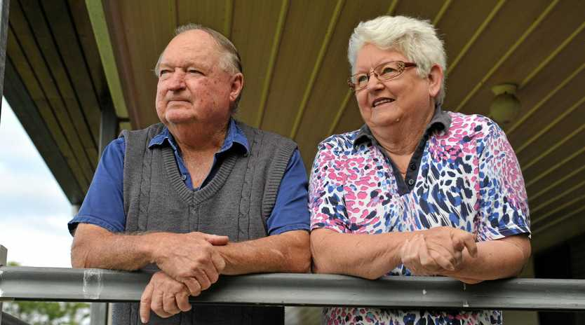 STAR ROLE: Tiaro's Linda and Mel Harris did everything they could to get the LNP over the line..