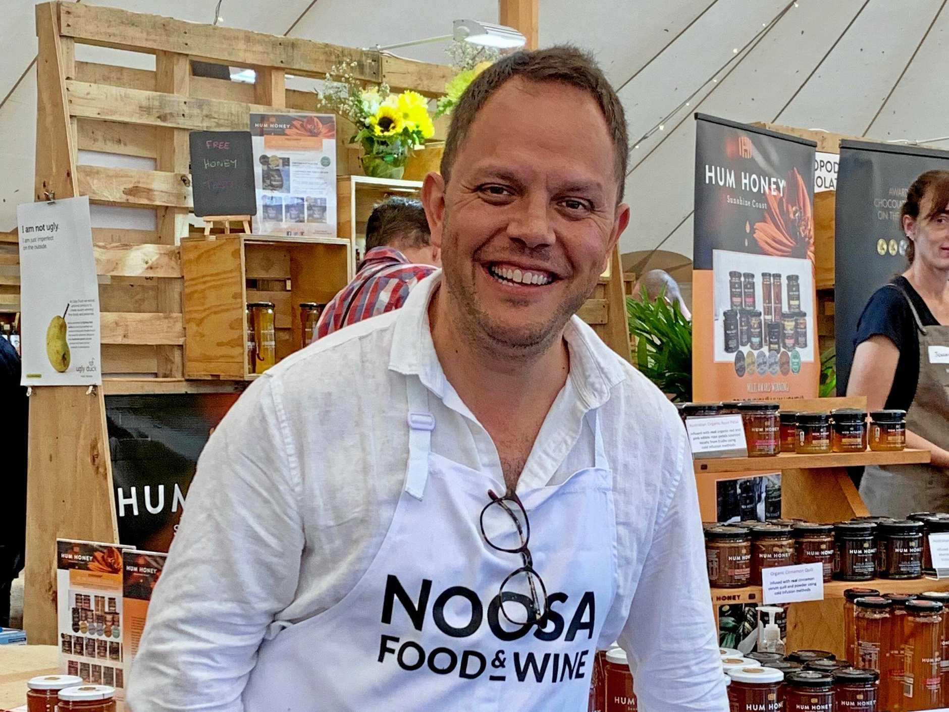 DRAWS A CROWD: Australian chef Alastair McLeod.