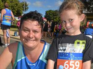 Genetic disability has not stopped mum from running 1500m