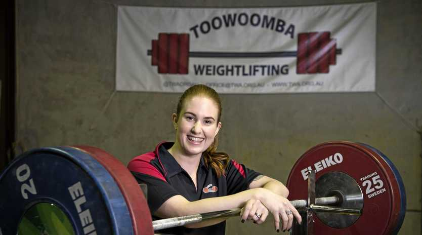 NEW PRESIDENT: Bec Hopf is the first female president in the 37-year history of the Toowoomba Weightlifting Association.
