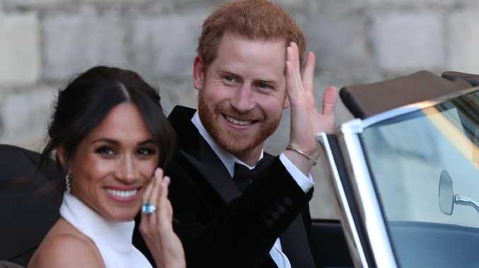 Unseen photos of Meghan, Harry on wedding day