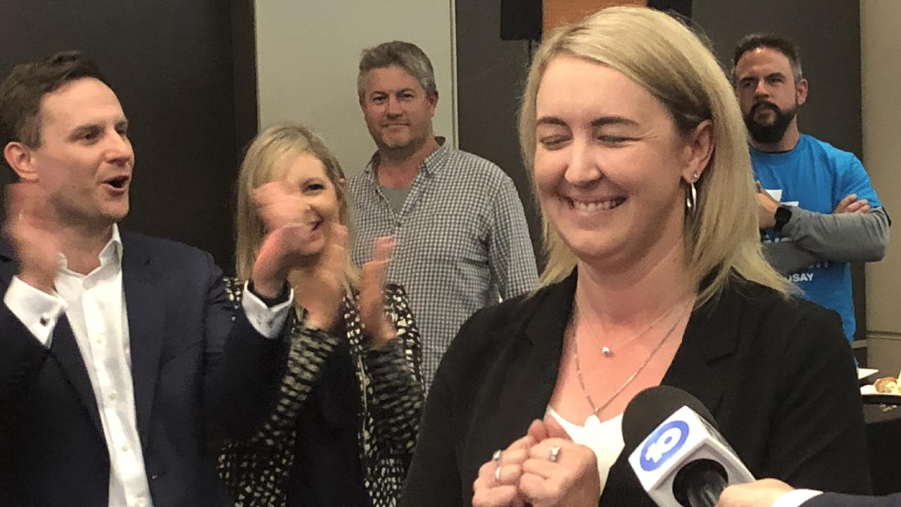 Sarah Richards hopeful, but still not calling it in Macquarie.