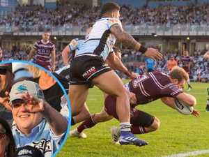 Sea Eagles spring upset on Sharks