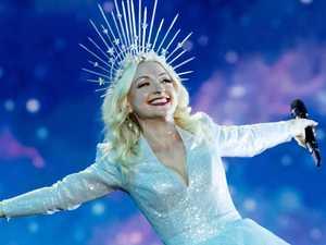 'I'm crying': Kate wows at Eurovision