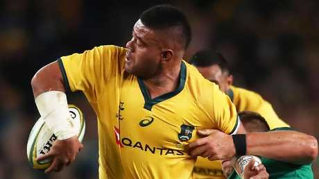 Tolu Latu in action for the Wallabies. Picture: Getty Images
