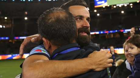 Alex Brosque leaves the game an A-League champion.