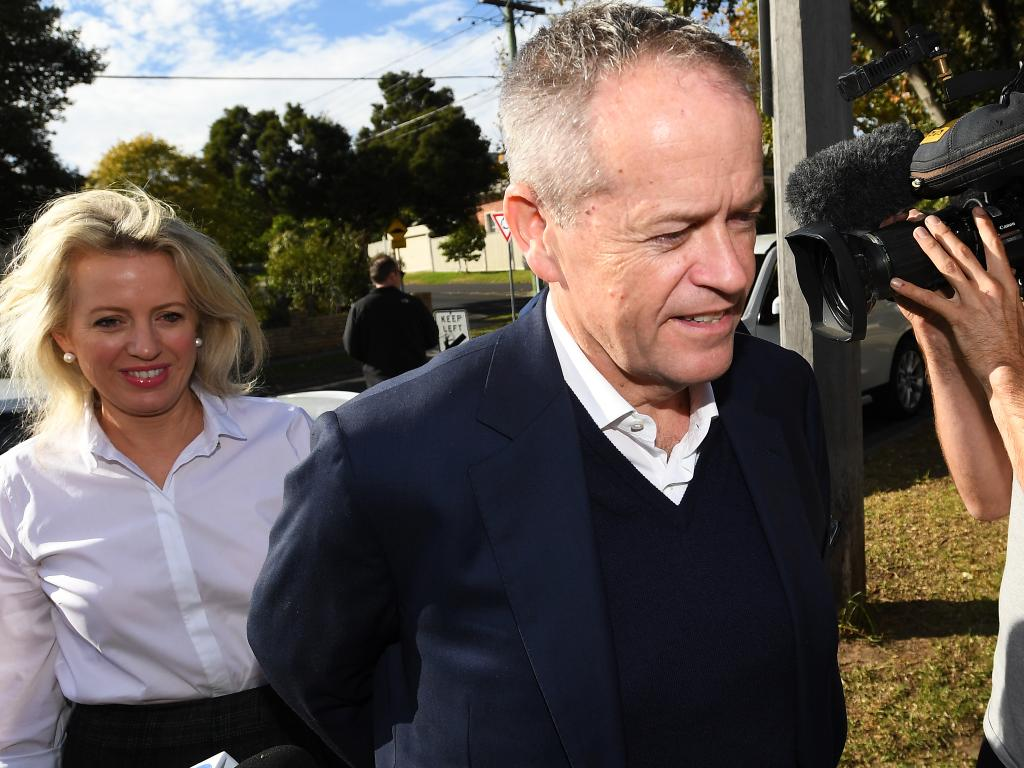 Opposition leader Bill Shorten had been tipped to claim victory, according to inaccurate polls. Picture: AAP Image/James Ross