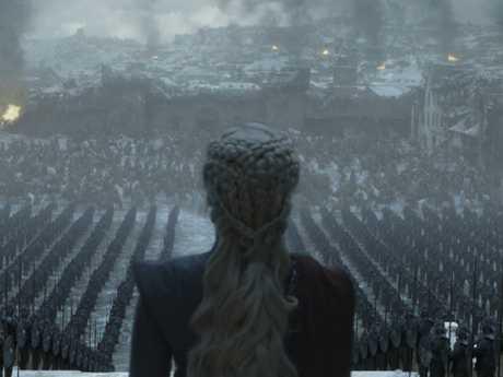 Emilia Clarke as Daenerys Targaryen. Picture: HBO