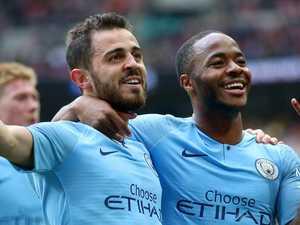 Man City crush Watford to create history